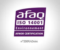 Logo certification ISO 14001