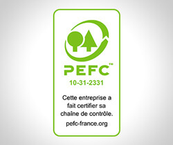 Logo certification PEFC