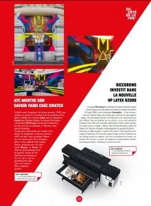 IC le Mag 7 - Article Riccobono HP Latex R2000